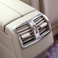 Styling Chrome Rear AC Trim Air Conditioner Decorative Cover Frame For Mercedes Benz E Class W212