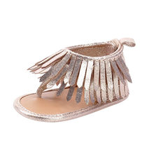 ARLONEET Girl Tassels Sandals Baby Anti-slip Soft Sole Crib Shoes Newborn Walking Shoes Girl 0 to 12 Months Drop Shipping 30S515(China)