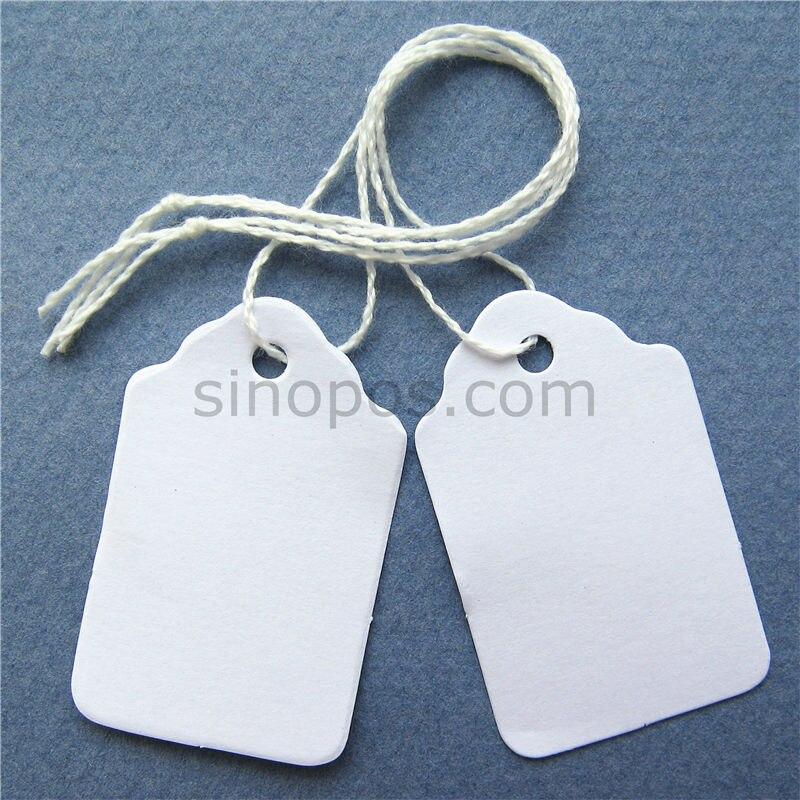Aliexpress.com : Buy 24x38mm Pre strung Blank Merchandise paper ...