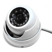 1/3″ 1000TVL 24Leds Day and Night IR Color Outdoor dome CCTV Security Camera 3.6mm wide angle lens