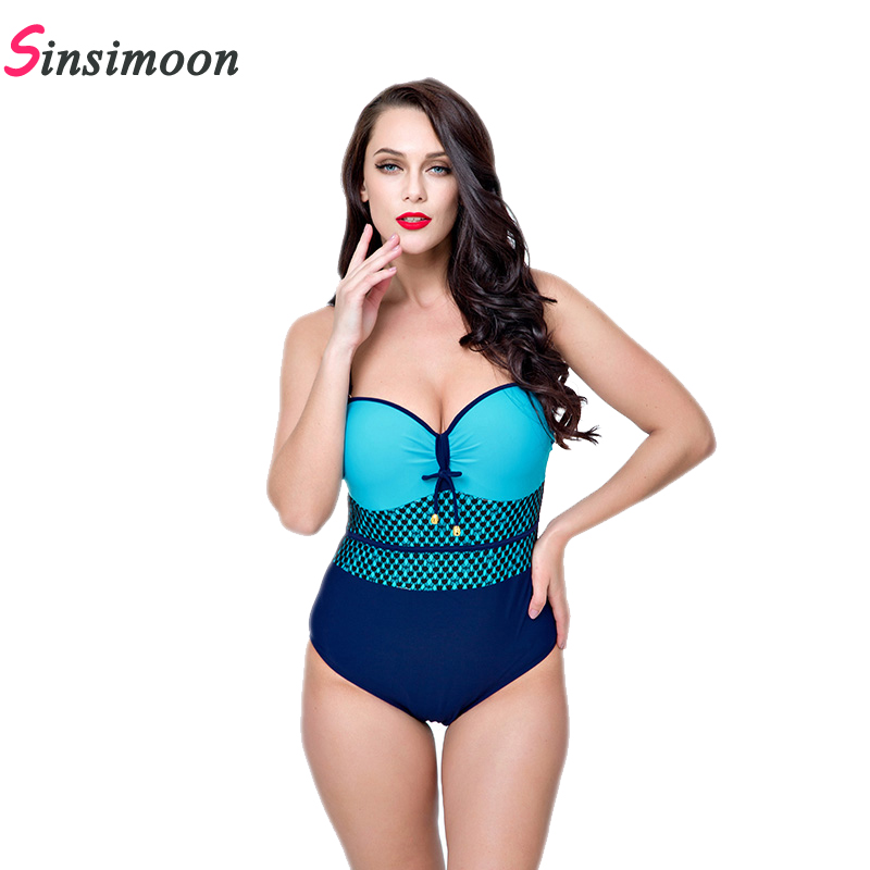 Women Lattice Bathing suit New Grid One Piece Bathing suit Plaid Swimwear Plus size Beach wear Thong Push up Monokini Bodysuit sexy plus size swimwear one piece swimsuit women backless monokini trikini halter push up bathing suit beach wear bathing wear