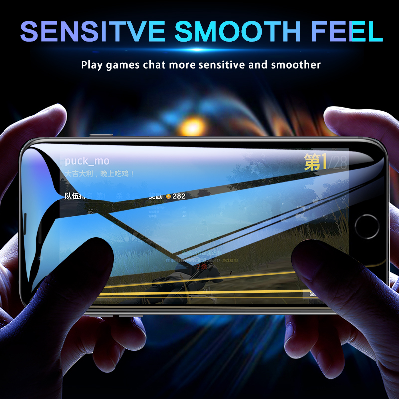 Image 5 - 99D protective glass for iPhone 6 6S 7 8 plus X XR XS 11 pro MAX glass on iphone 7 6 11 X XS MAX XR screen protector protection-in Phone Screen Protectors from Cellphones & Telecommunications