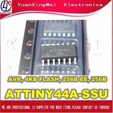 送料無料 10 ピース/ロット ATTINY44 、 ATTINY44A 、 ATTINY44A SSU 、 SOP14 、新オリジナル ATTINY44A SU