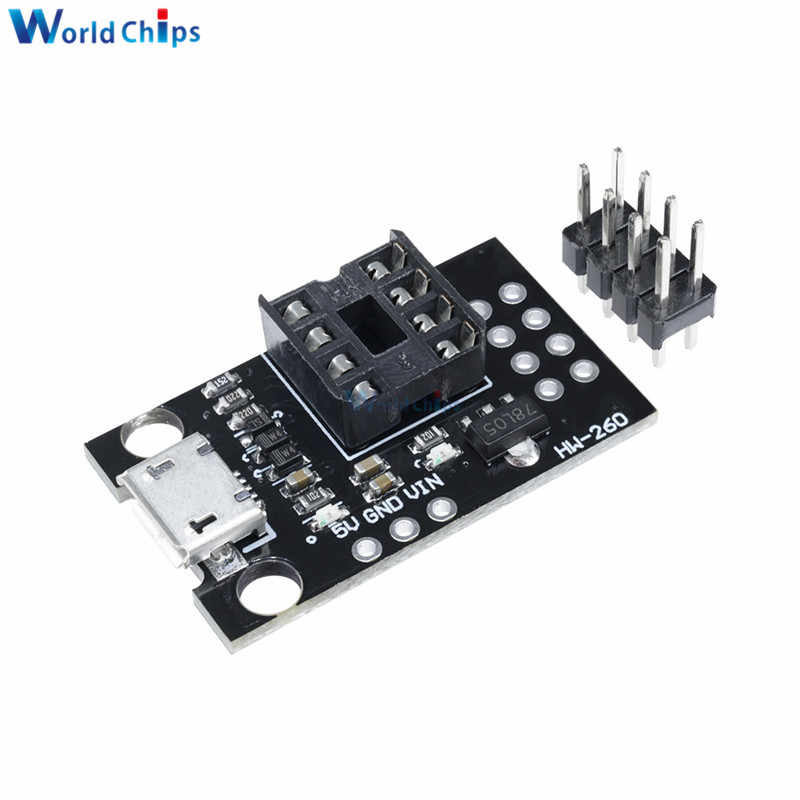 1PCS Mini ATTINY85 Micro USB Development Programmer Board for Tiny85-20PU