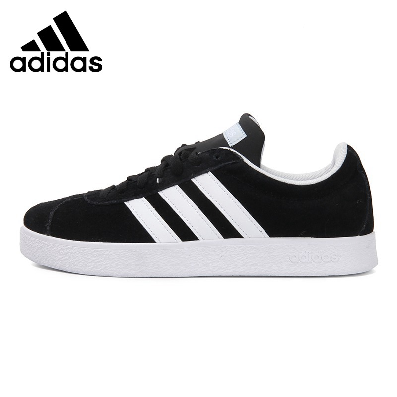 €85.38 22% de DESCUENTO|Original nueva llegada Adidas NEO marca VL corte  2,0 WCOURT de las mujeres zapatos de skate zapatos zapatillas de ...