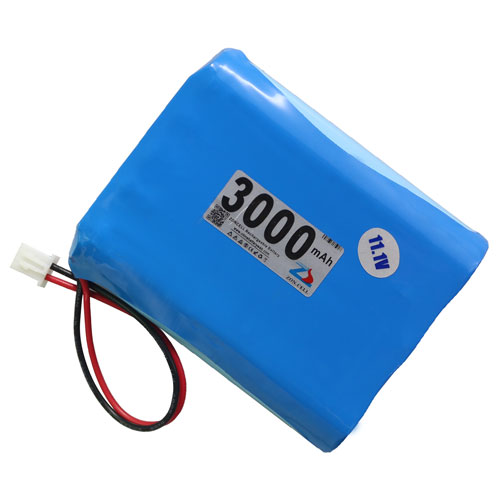 In the 3000mAh 12V smoke alarm monitoring equipment of lithium battery 11.1V heater square dance sound box Li-ion Cell