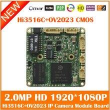 Hd 1080p 2.0mp Hi3516c+ov2023 Cmos Ip Camera Osd Menu H.264 Onvif Surveillance Security Webcam Repair Diy Freeshipping Hot Sale
