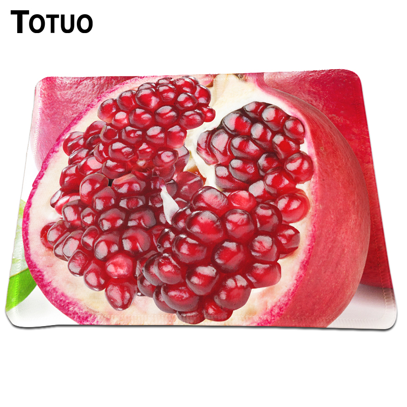 Special Offer Pomegranate Pattern Computer Notebook Desktop Mousepad Round Rubber Anti-slip Mouse Mat For Gaming Speed Mice Mat
