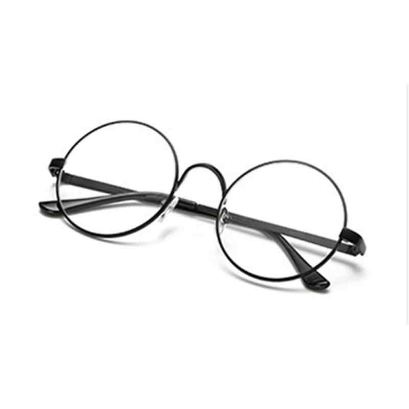 6e34cbe9f ... Hot Retro Oversized Korean Round Glasses Frame Clear Lens Women Men  Gold Eyeglass Optic Frame Eyewear ...