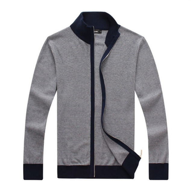 High quality business men's 2017 men's sweater cardigan coat a ...