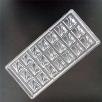 Pastry accessories polycarbonate chocolate moulds,spindrift shaped plastic pastry moulds, kitchen baking pastry tools