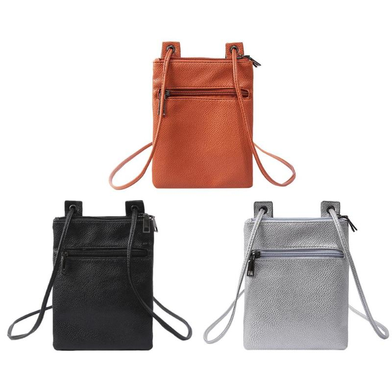 Mini handbag PU Leather Women Girls Coin Phone Holder Shoulder Bags Casual Ladies Mini Crossbody Messenger Handbags small bag