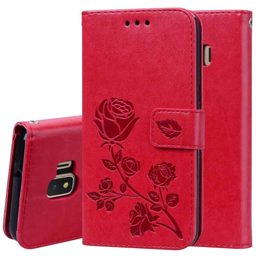 For Samsung Galaxy J2 Core Case Leather Wallet Phone Case For Samsung Galaxy J2 Core J260G J260 SM-J260G J2 core Case Flip Cover