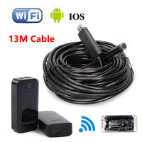 12mm 4LED 13M Endoscope Waterproof Inspection Camera Micro USB For Windows XP Vista WIFI BOX For