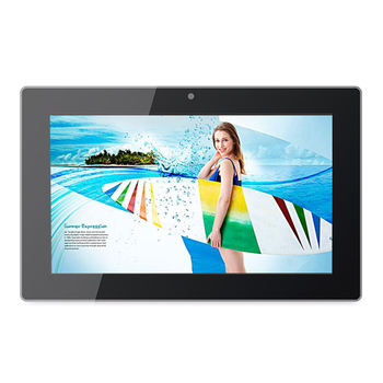 Android OS electronic menu 13.3 inch all in one pc for restaurant ordering system