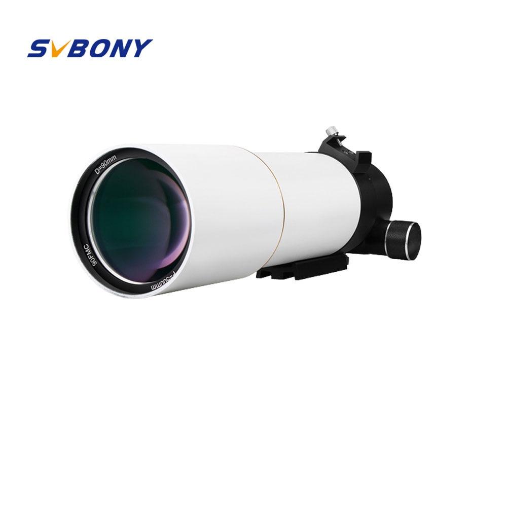 SVBONY 2 pouces F50090 Télescope SV48 F5.5 Lunette Professionnel Astronomique OTA L'astrophotographie Espace Lune Double Lentille F9341B