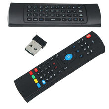 Anewkodi 2.4GHz IR MX3 Remote Control Air Mouse MX3Wireless Flying Double Keyboard for XBMC Android Mini PC TV Box free shipping
