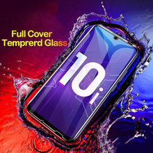 Full Glue Glass Honor 10 Temperede Glass For Huawei Honor 10 Lite V10 V9 Play V20 Screen Protector For Honor 9 8 Lite Protective(China)
