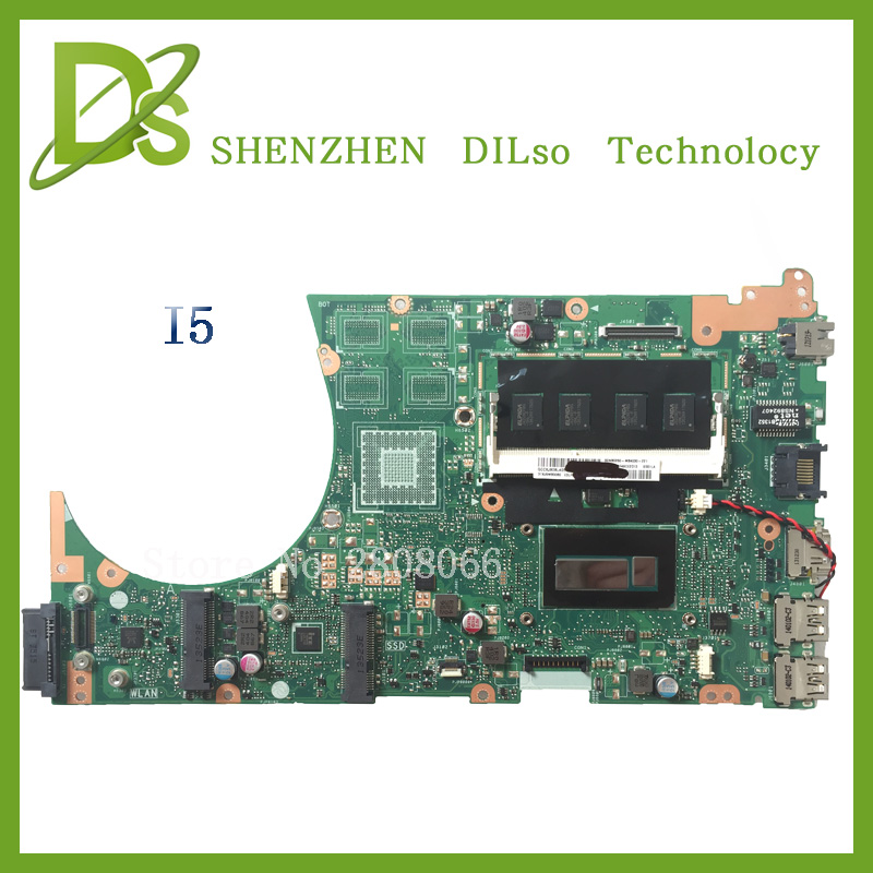 For ASUS S551LB S551LA Integrated Laptop motherboard with cpu i5 on board 100% tested motherboard new motherboard asus g31m s support ddr2 775 pin integrated small board g31m g31 motherboard