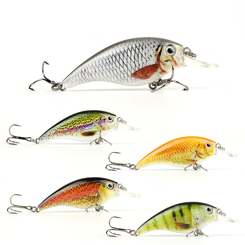 5 Colors 8cm/10g Bionic Crankbait 3D Eyes Fishing Lure High Realistice Fish Bait Vivid Motion Fishing Wobbler Tackle Pesca HML07 mmlong 12cm realistic minnow fishing lure popular fishing bait 14 6g lifelike crankbait hard fish wobbler tackle pesca ah09c
