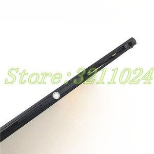 Image 3 - דיור מלא עבור Sony Xperia T2 Ultra יחיד/כפול כרטיס שיכון כיסוי הלוח הקדמי התיכון אמצע מסגרת לוחית סוללה חזרה כיסוי + לוגו