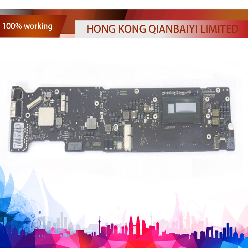 Original A1466 Logic board for Macbook Air 13.3'' Laptop i5 4GB 1.4GHz Motherboard 820 3437 B 2013 2014 Year