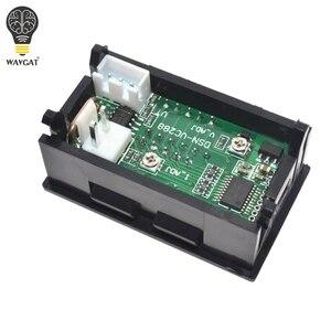 Image 5 - Цифровой вольтметр Амперметр постоянного тока 0 100 в 10 А, двойной дисплей, детектор напряжения, измеритель тока, панель Ампера, вольтметр, 0,28 дюйма, красный, синий светодиод