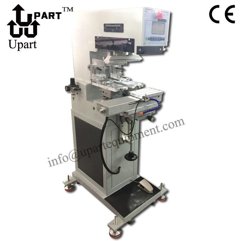 125 Series Automatic 2 Color Pad Printing Machine China