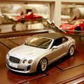 Bburago 1:18 Bentley Continental Supersports Silver