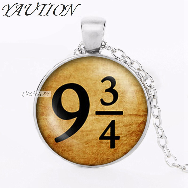 YAUTION train tickets Deathly Hallows Necklace time turner dr who witch Triangle necklac ...