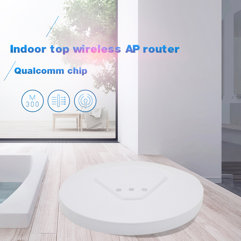300Mbps in Wall WiFi Access Point Ceiling AP 802.11b/g/n wifi router POE Indoor AP for big area wifi coverage Access Point AP tuffstuff ap 71lp