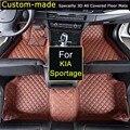 Auto Fußmatten für KIA Sportage Benutzerdefinierte Teppiche Auto Styling Kundenspezifische Speziell Schwarz Braun Beige|floor mats audi a6|floor mats and rugsfloor car mat -