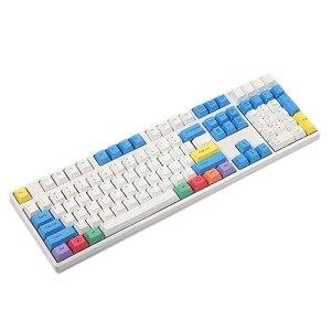 Image 2 - Ymdk chave de teclado ansi perfil, gravado a laser, 108, giz, teclado, para interruptores cherry mx, teclado mecânico