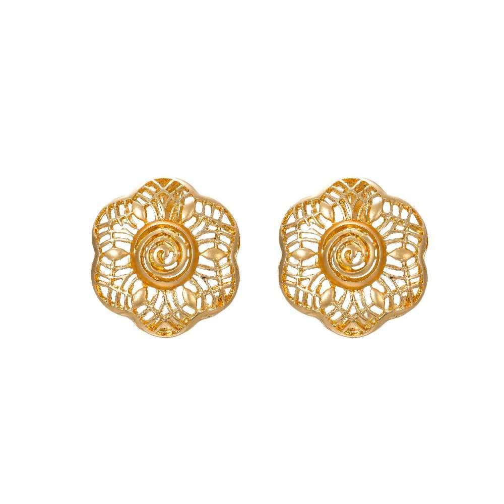 MUKUN 2018 Дубай золотого цвета Ювелирные наборы Африканский женский большое ожерелье серьги нигерийский Свадебный Африканский наряд из бисера ювелирный набор
