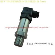 Free shipping     High pressure transducer sensor PT210B-0-300MPA 3000KG 4-20MA 0-10V 0-5V free shipping pressure transducer 1 0 16bar 10bar 25bar 10 30vdc power supply g1 4 0 5v output 0 5% pressure transmitter