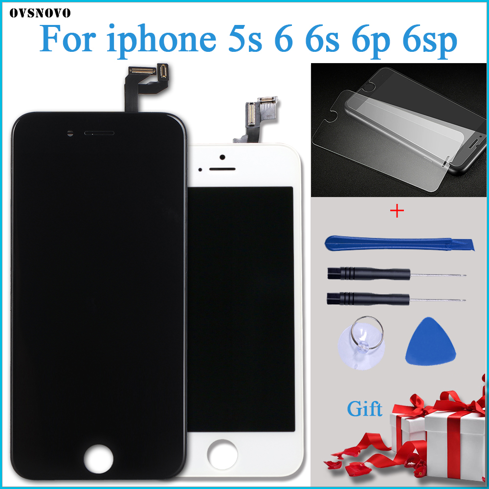 3D Touch LCD Replacement for iPhone6 6s 5s Screen Replacement Digitizer Assembly for iPhone 6 lcd display No Dead Pixel +Gifts image