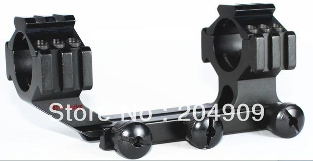 Free S&H Tactical 30mm & 1'' Onepiece RifleScope Weaver Mount Rings w/ Tri-Rails Cantilever Style Holiday Sale