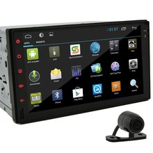 """7"""" HD In Dash Car Radio Tablet Android 4.2 Double 2Din GPS Navigation Car Stereo No-DVD mp3 Player USB/ipod/3G/Wifi+Free Camera"""