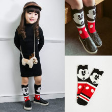 Детей пред дошкольного возраста составители Фокс носки колено высокий рукав загрузки Гетры Totoro носки девушка Collant enfant детей Chaussette изящный усы носки