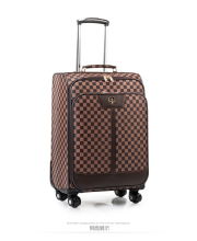 Commercial universal wheels trolley luggage 16 20 24luggage travel bag male suitcase pull box female,retro trolley luggage