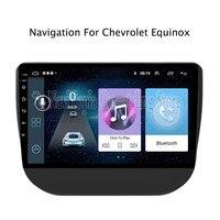 ECTWODVD 9 дюймов Android 8,1 автомобиля радио gps навигации Мультимедиа Стерео DVD плеер для Chevrolet Equinox 2017 2018