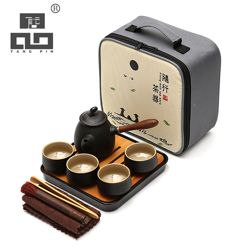 TANGPIN japanese ceramic teapot kettle teacup ceramic tea sets kung fu tea set with trayTANGPIN japanese ceramic teapot kettle teacup ceramic tea sets kung fu tea set with tray