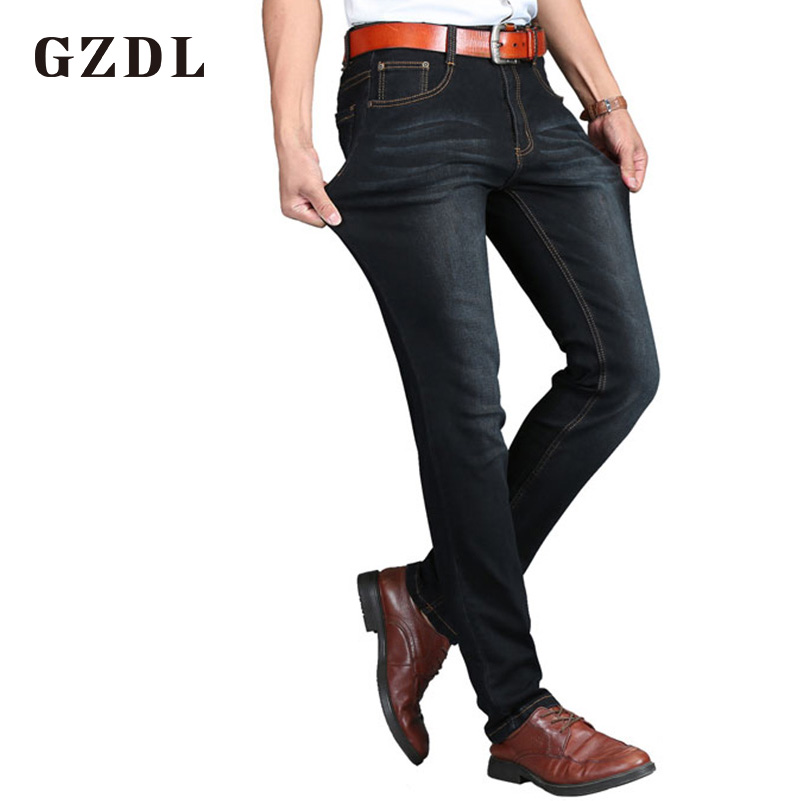Summer Jeans Mens Trousers Thin Section Young Mens Business Casual Trousers Stretch Pants Fashion Brand Jeans CL4659.
