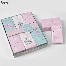 BXLYY 3 шт. вечерние принадлежности Фламинго одноразовые ткани мультфильм печати платок бумага Baby Shower День рождения Свадьба decoration. 7z