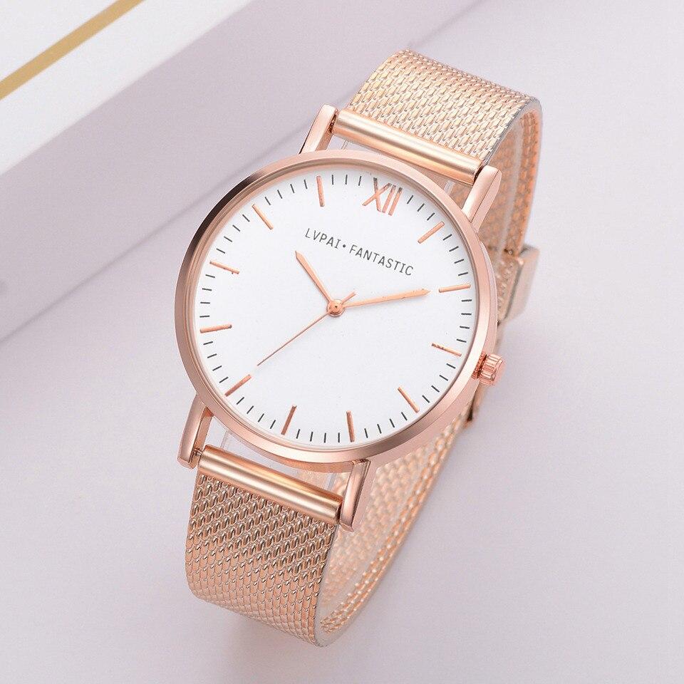 Susenstone Lvpai Women's Casual Quartz Silicone Band New Strap Watch Analog Wrist Watch Wristwatch Clock Gift Reloj Femenino @4