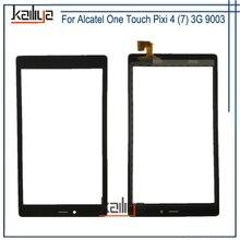 Для Alcatel One Touch Pixi 4 (7) 3g 9003X 9003A Сенсорный экран планшета Ассамблеи Замена черный 7,0 дюйм(ов) для Alcatel телефоны