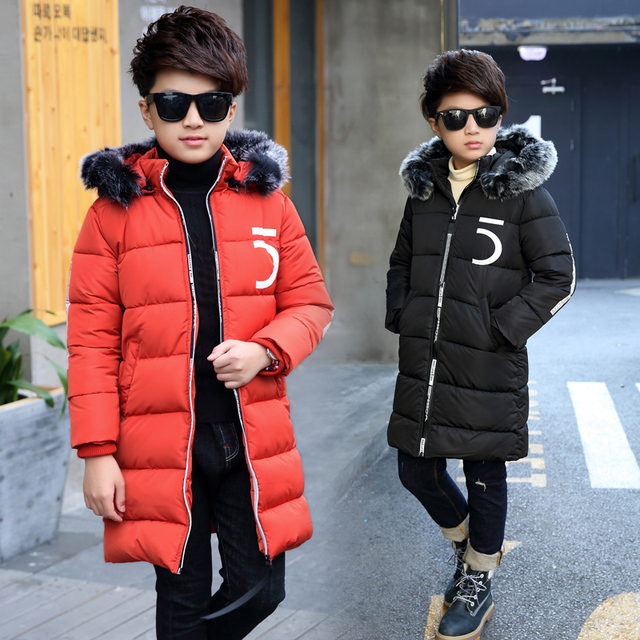 13371636ab75 Aliexpress.com   Buy New Boys Jackets Parka Baby Outerwear childen ...