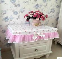 Past Princess Bedside Table Cover Tablecloth Dresser Desk Cloth Dust Can Be Customized Size