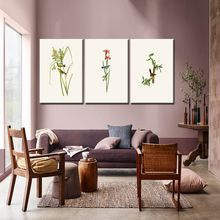 Natural Rural Style Plant Birds Trees Canvas Print Painting Modern Green Environmental Home Decor Poster Wall Art Picture Frame