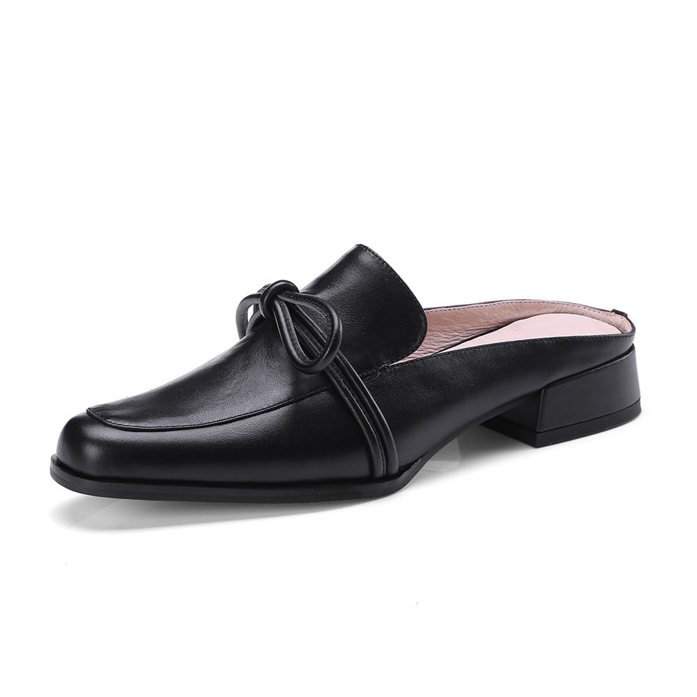 white Negro Zapatos Negro Del Mujeres Pie rosado Primavera Cuadrados Señoras Blanco Moda Ocasionales Solo Otoño Dedo Masgulahe Rosa Planos TagwqHH